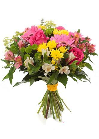 Alanya Çiçek Mevsim Çiçekleri Buketi