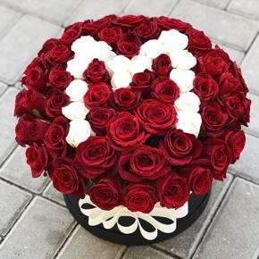 kalp vazoda 11 kırmızı gül 75 Gül İle Özel Tasarım